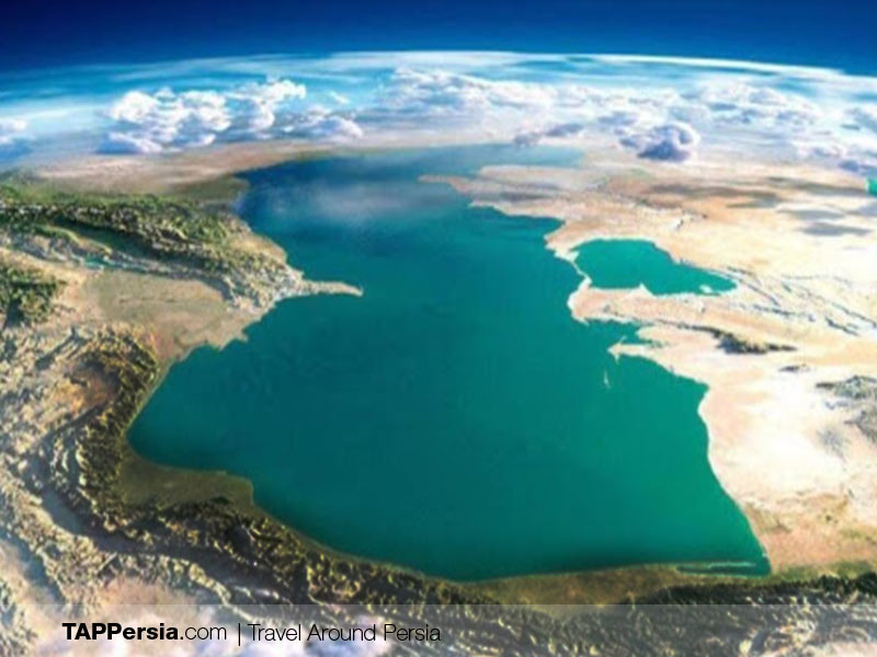 Caspian Sea - Iran - Cover