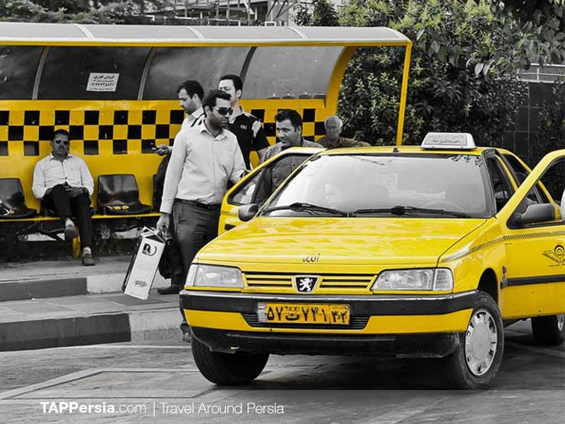 Taxi Iran - Iran Travel Tips - TAP Persia