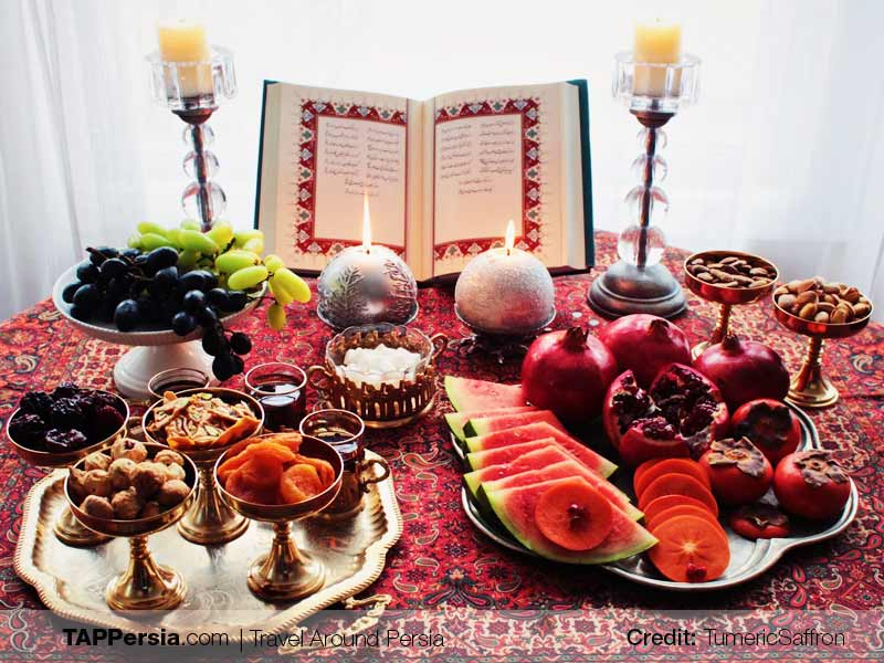 Yalda Night in Regions of Iran - Traditions and Festivals - TAP Persia
