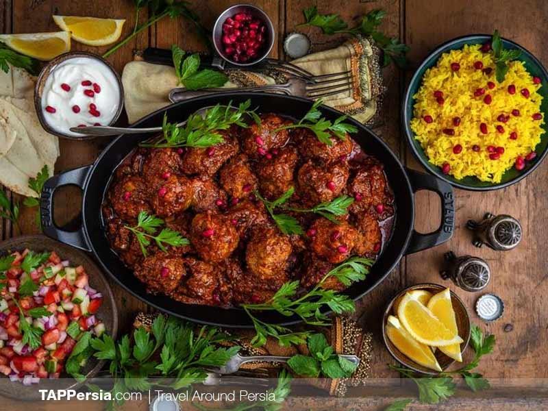 Top 10 Iranian Food | Cuisine | TAP Persia