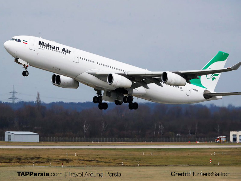 Iranian Airlines for Chinese