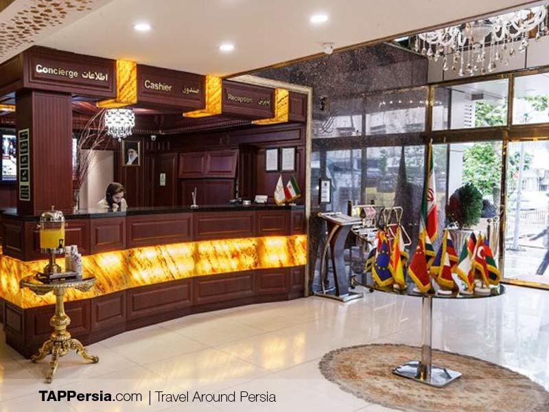 Iran hotel reservation