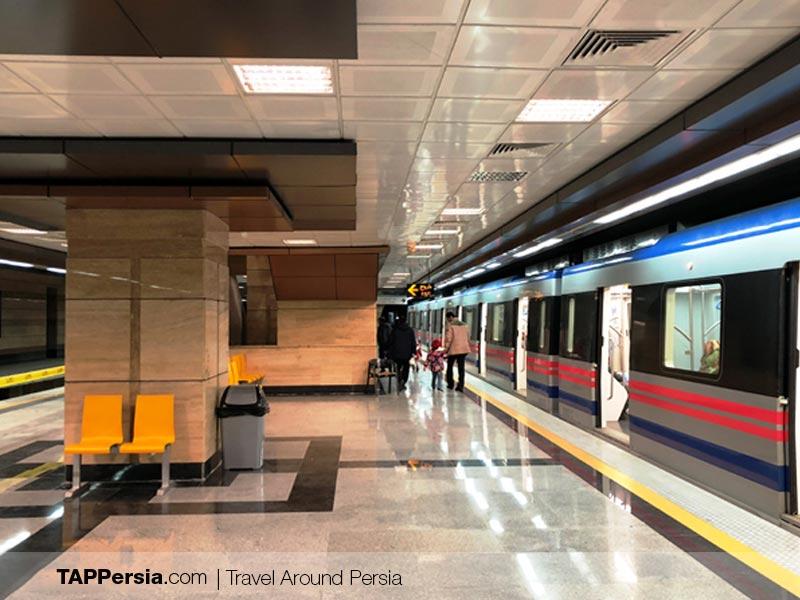 Tabriz Metro Station