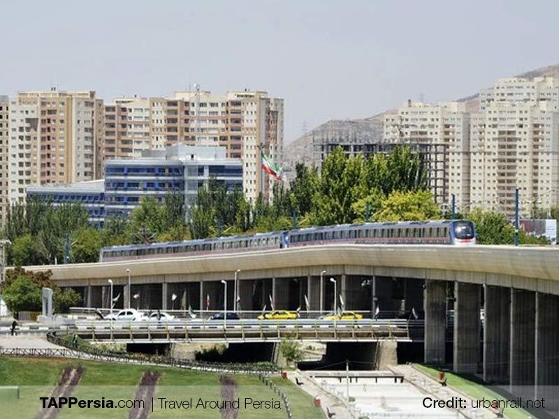 metro in Tabriz