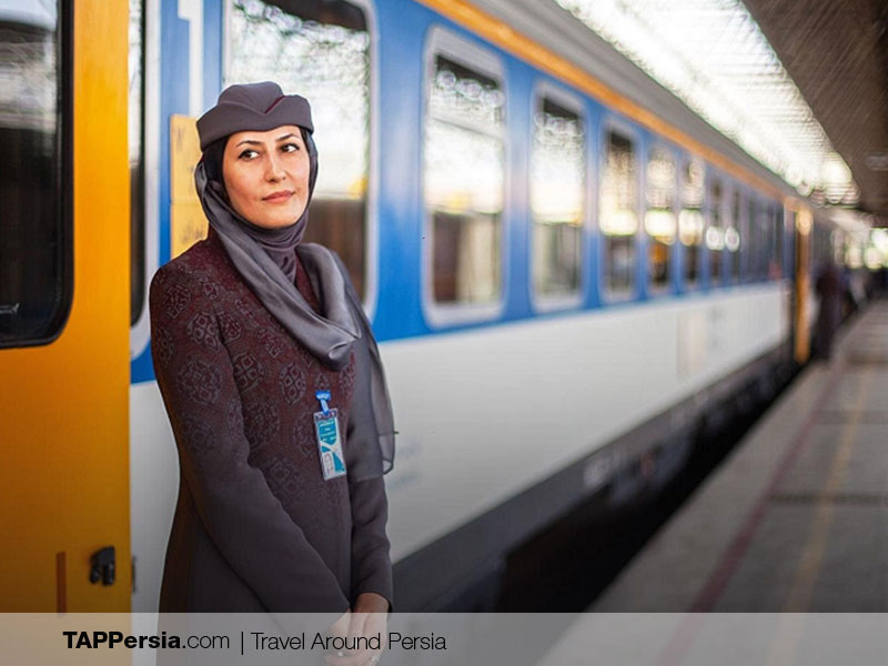 train in Iran Safe for women