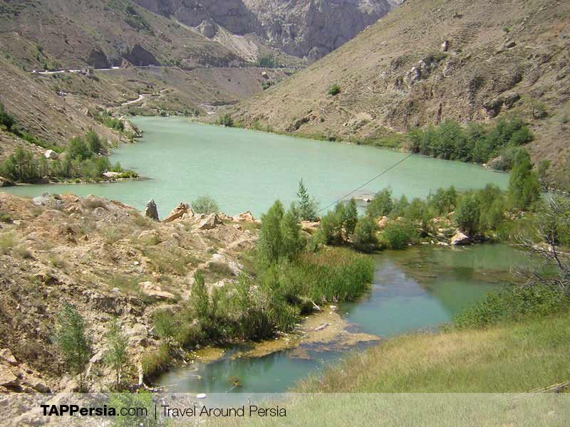 Larijan Hot Spring in Amol - Iran's Natural Spas