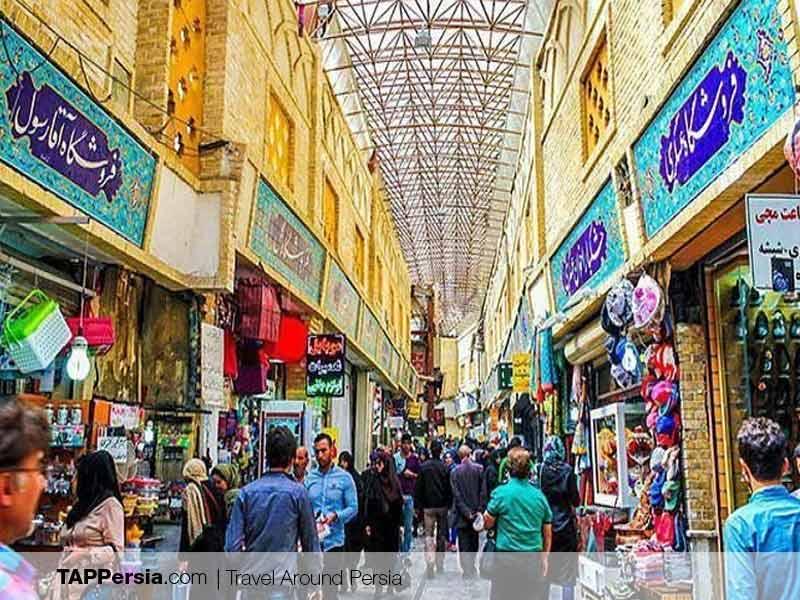 Tajrish Bazaar History - Tehran Top Attraction