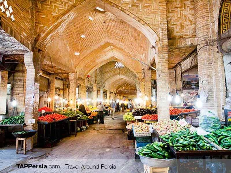 Tajrish Bazaar Roof - Tehran Top Attraction