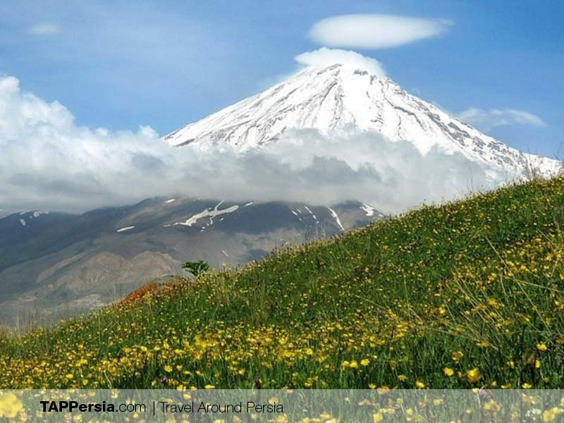 Azu Plains - Damavand - Camping Spots in Iran