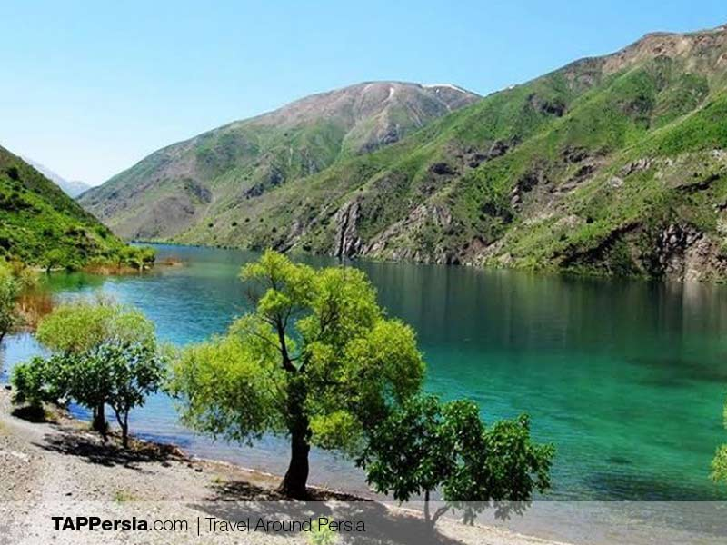 Gahar Lake - Lorestan - Camping Spots in Iran