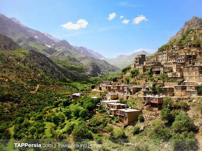 Hajij Village - Uramanat - Camping Spots in Iran
