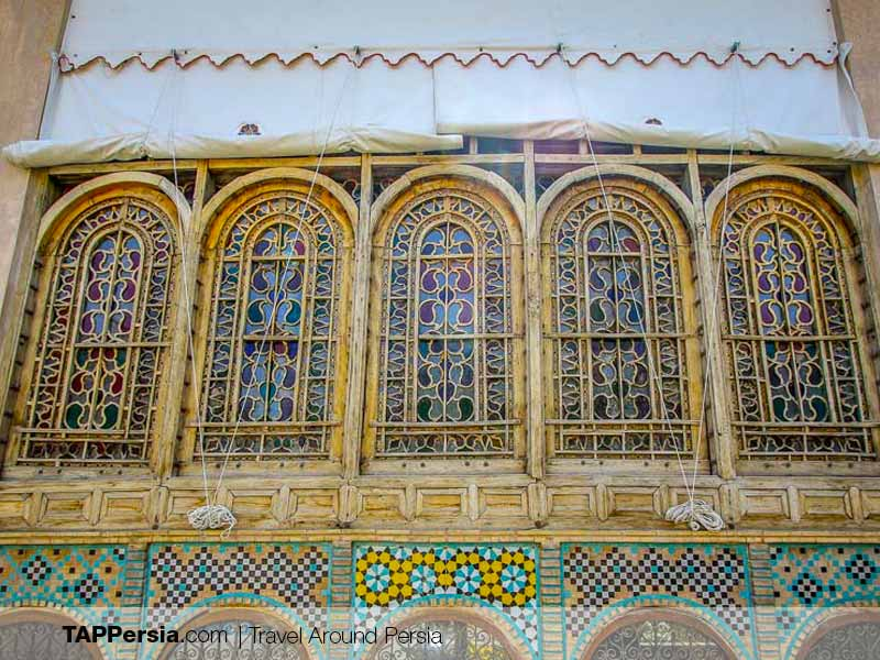 Javaheri House Windows - Isfahan Historical Houses