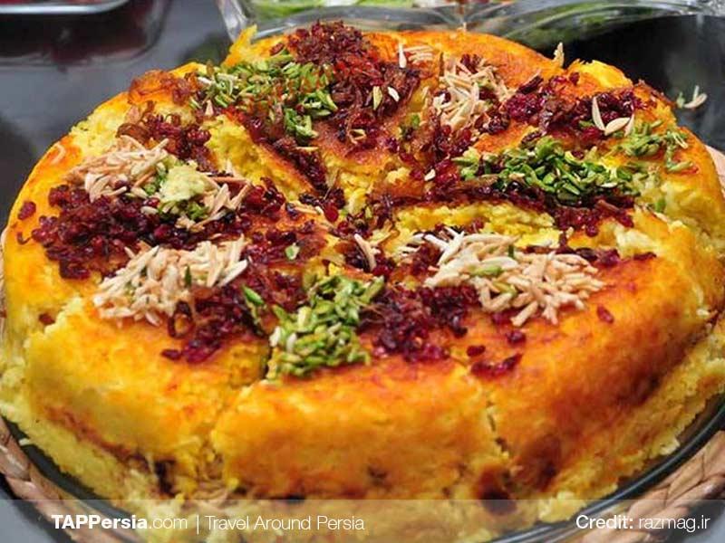 Tahchin Morgh Recipe - Persian Dishes