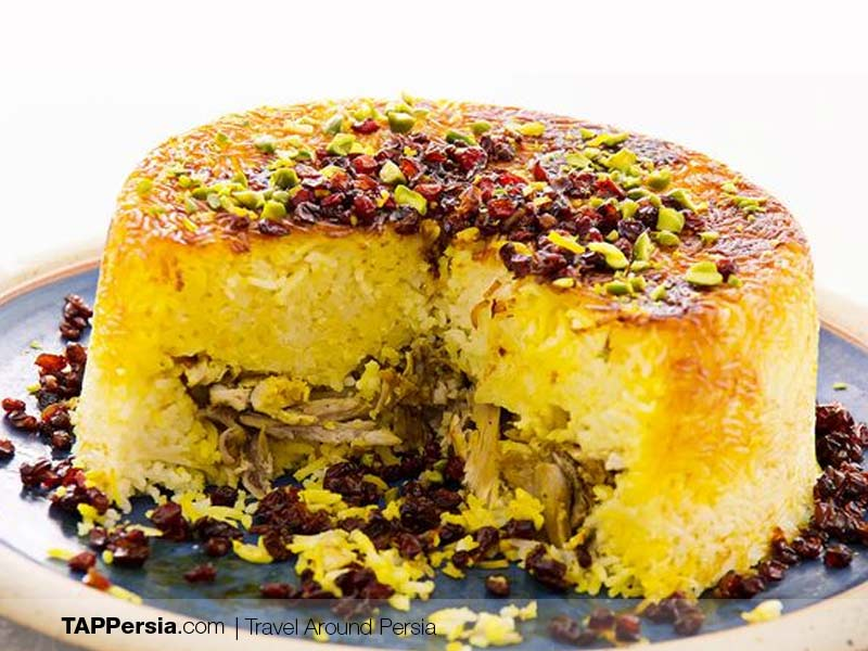 What Is Tahchin - Persian Dishes