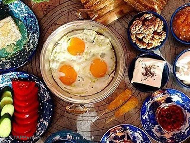 Iranian Breakfast - Egg for Breakfast