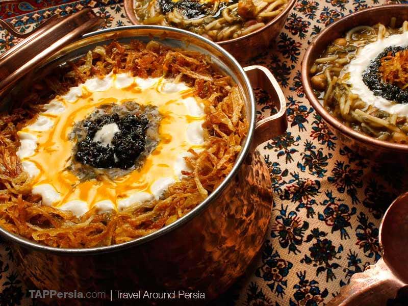 Ashe Reshteh - Persian Breakfast