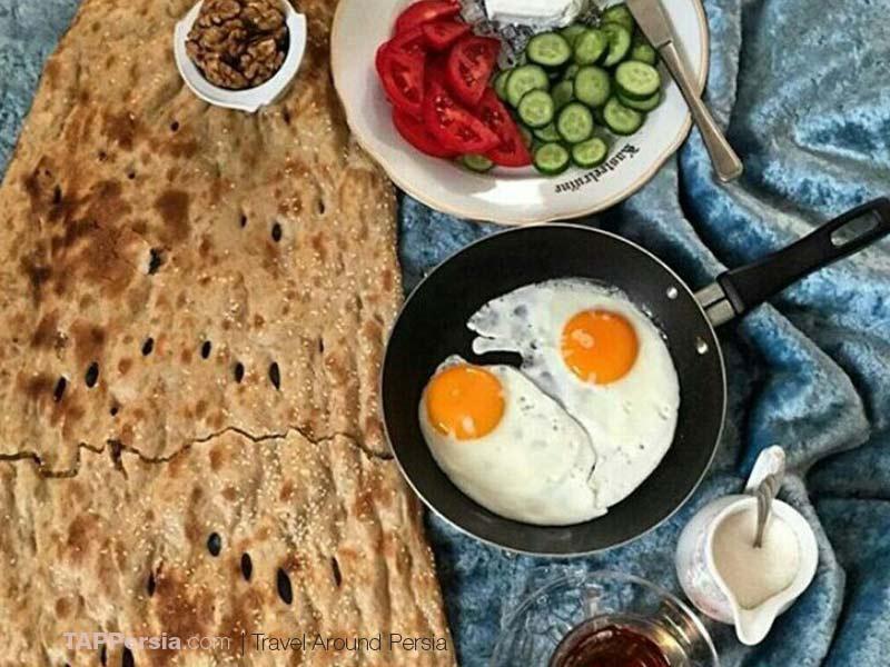 Iranian Nan - Try it for Breakfast
