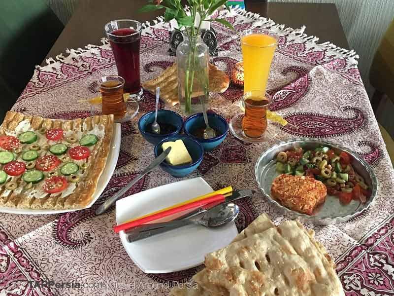 Iranian Breakfast - Try Persian Breakfast