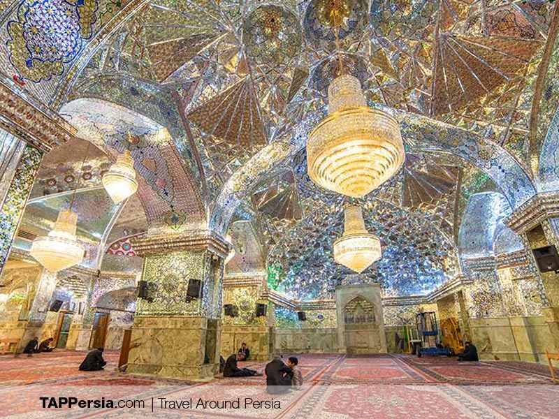 shah cheragh Religious sites in Shiraz
