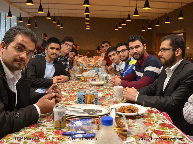 Dinner gathering - University of Isfahan