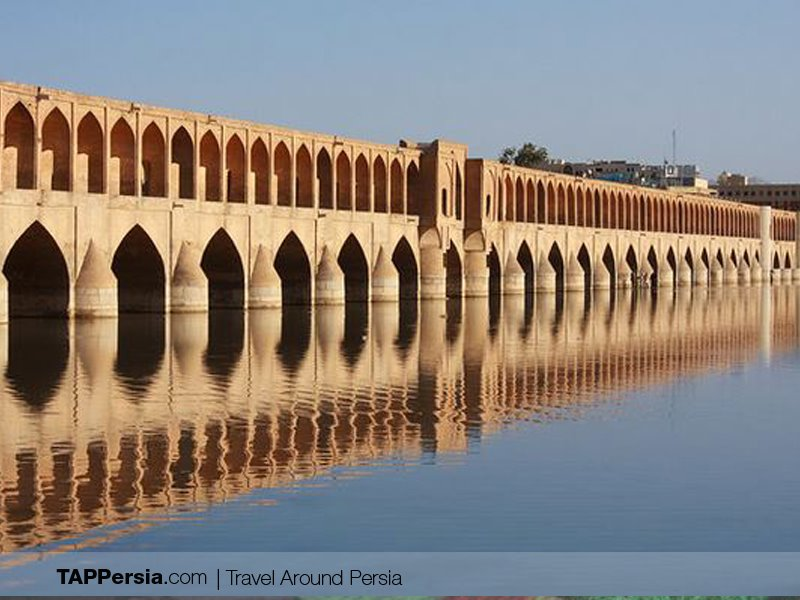Sio-Se-Pol Bridge - Places to walk in Isfahan