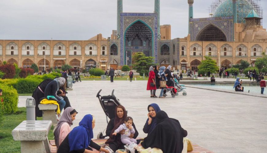 walk in Isfahan | 8 Places to walk in Isfahan