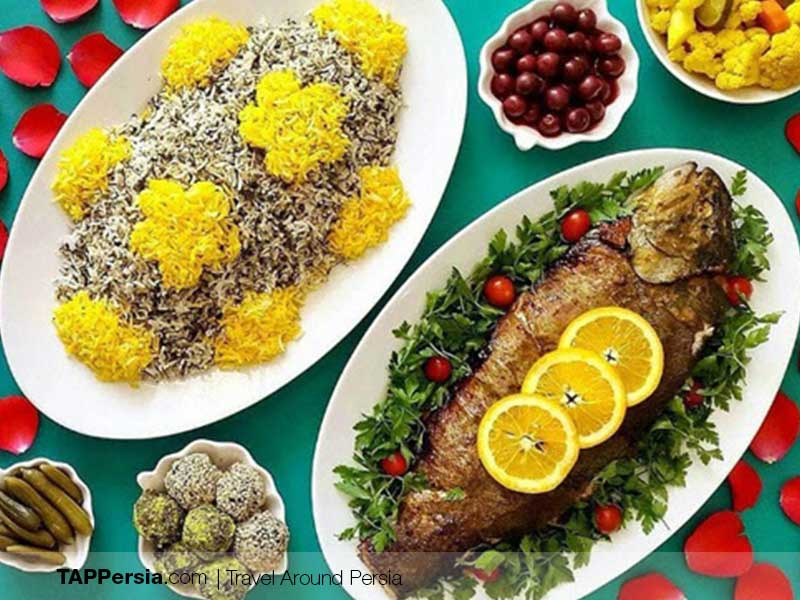 Sabzi Polo and Mahi - Traditional Dinner of Nowruz