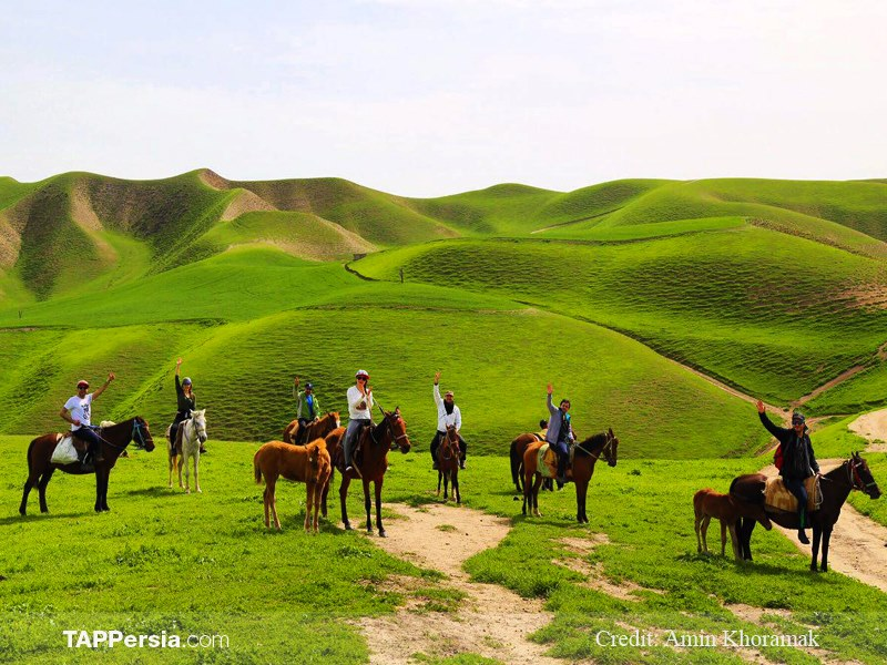 14 Turkaman sahra - 10 top natural attractions in Iran