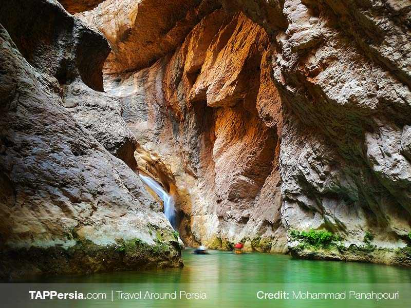 16 Reghez Canyon - 10 top natural attraction in Iran