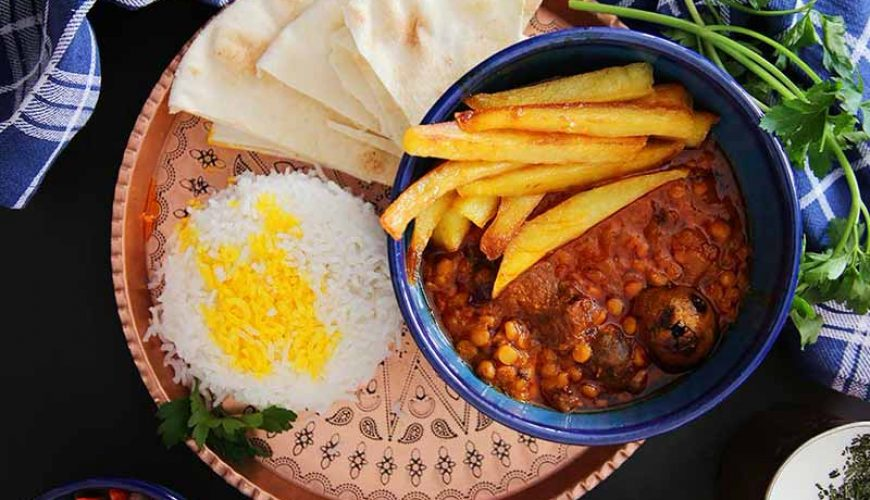 Khoresh Gheymeh - Persian Food