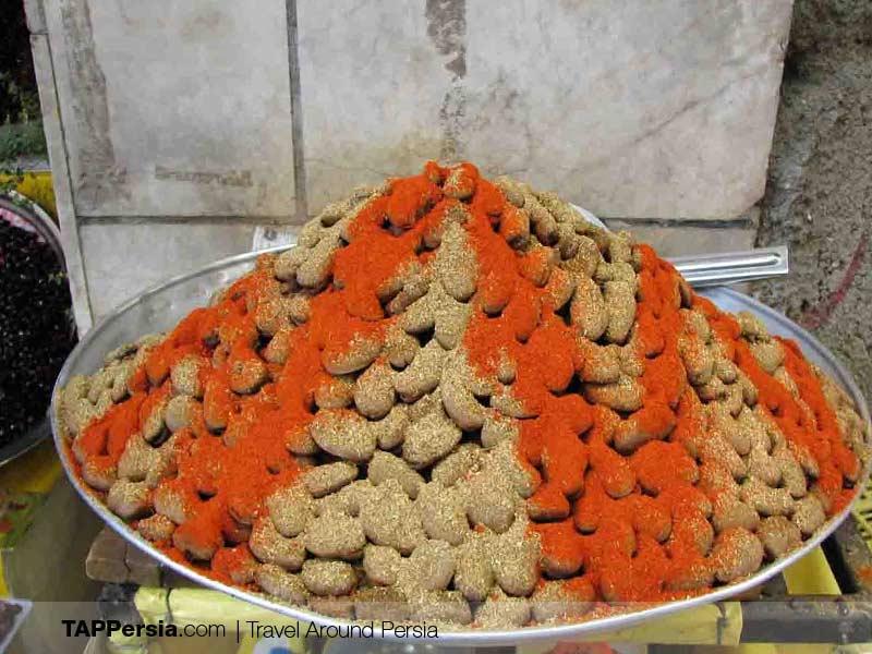 Iranian street Food - Baghali