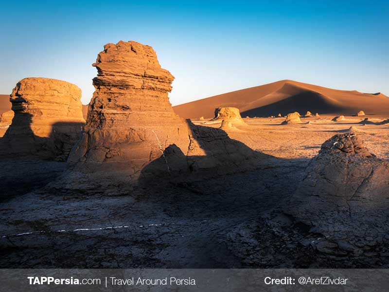 7 Lut Desert - 10top natural attractions in Iran