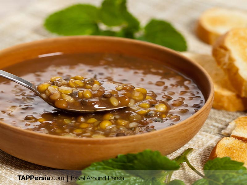 Iranian street Food - Adasi