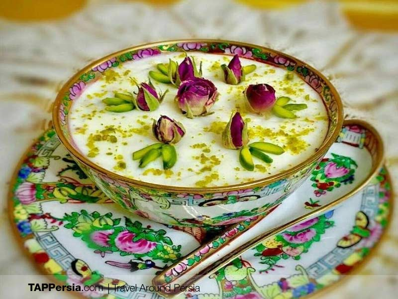 Iranian street Food - Ferni