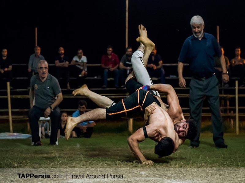 Gil and Mazani ethnicity - Iran - Wrestling