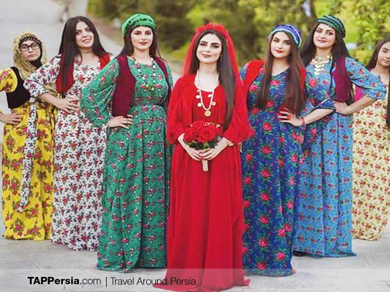 Ethnicities in Iran - Kurdish clothing