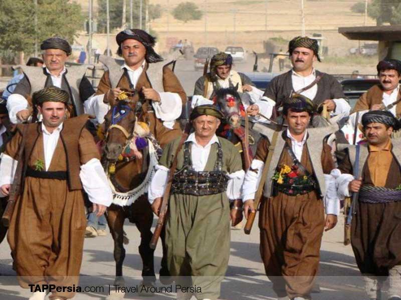 Iranian Kurds - Iran - Kurdish clothing