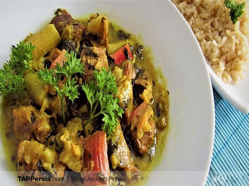 Iranian Kurds - Iran - Rivas stew - Kurdish food