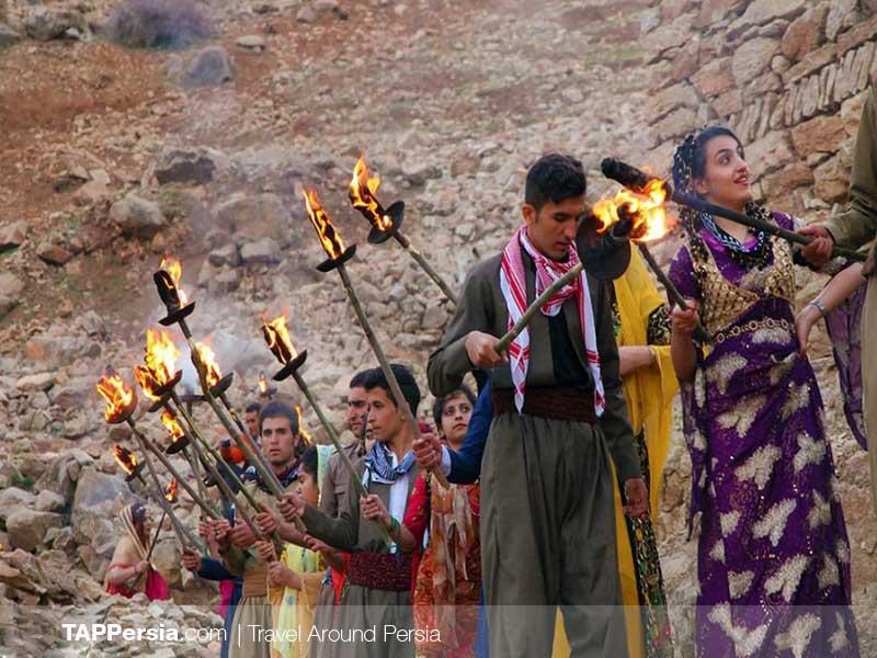 Iranian Kurds - Iran - Noruz Palangan