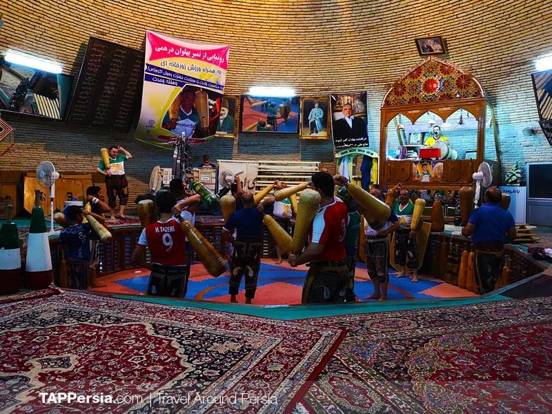 Saheb az zaman Zurkhaneh - yazd attractions 9