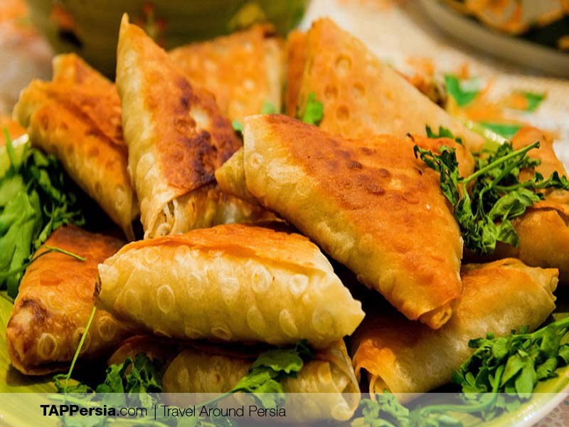 Street Food in Iran - Samosa