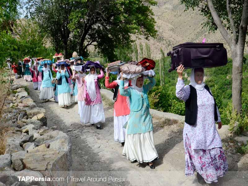 Gil and Mazani ethnicity - Iran - Shattibari