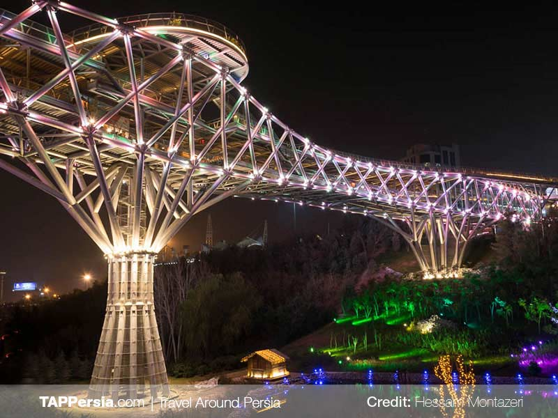 Tabiat Bridge - Tehran Top Attractions