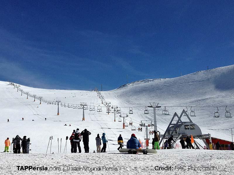 Mount Tochal - Tehran Top Attractions