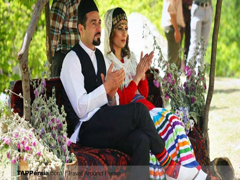 Gil and Mazani ethnicity - Iran - Traditional wedding