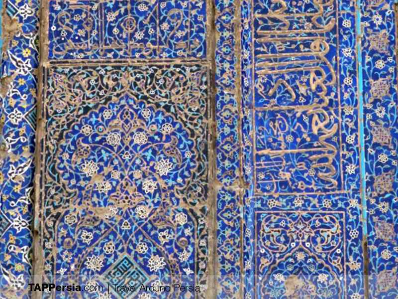 Blue Mosque Details - Tabriz Attractions