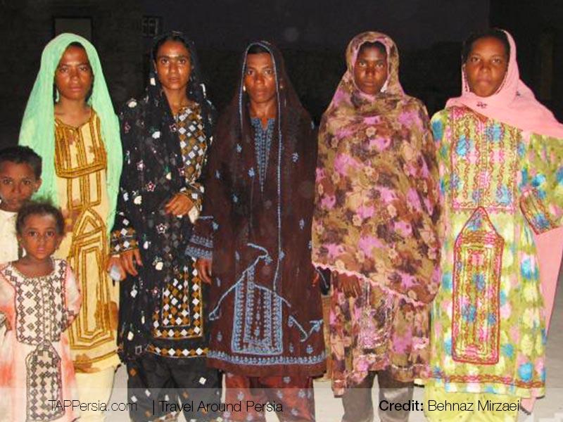 AfroIranian - women - Baluchistan