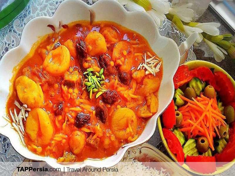 Iranian Food - Iran - apple stew