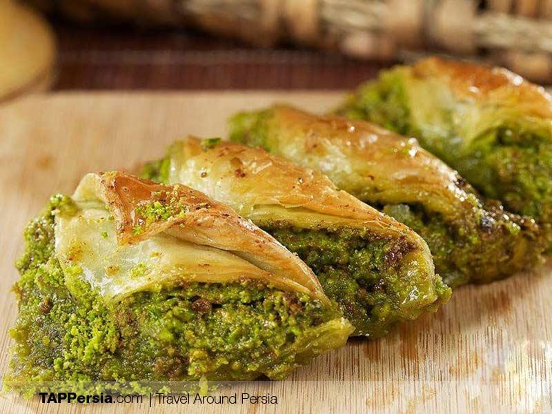 Azeri Food - Iran - Baghlava