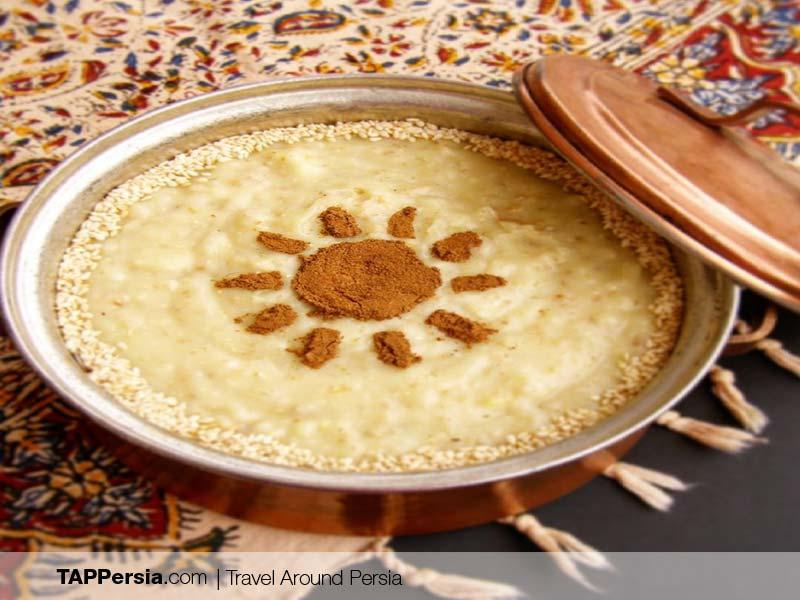 Turkmen Food - Iran - Balameh